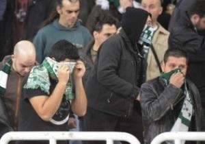 Фанаты Панатинаикоса уcтроили масштабные беспорядки на стадионе