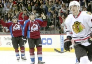 NHL: Чикаго и Колорадо забили 12 шайб на двоих