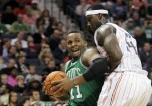 NBA: Бостон в гостях разгромил Шарлотт