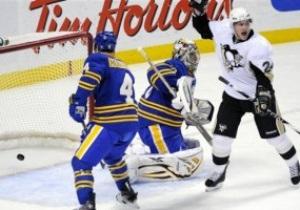 NHL: Питтсбург продолжил победную серию в матче с Баффало