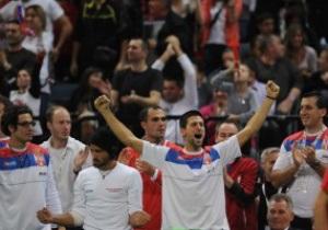 Серби поголили голови після перемоги у фіналі Кубка Девіса