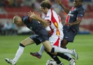Лига Европы: ПСЖ побеждает Севилью, ЦСКА уничтожает соперника