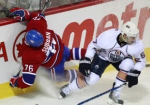 NHL: Эдмонтон победил в канадском дерби, Ванкувер разгромил Калгари