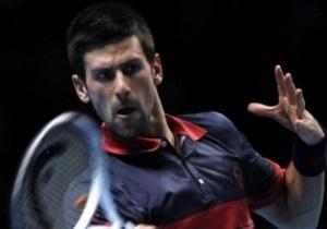 Джокович пустил Федерера в финал итогового турнира ATP в Лондоне