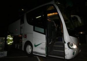 Автобус с футболистами Вердера попал в аварию