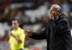 Наставник сборной Испании: Вероятно игроки подсознательно расслабляются