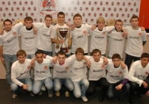 Шахтер открыл в Донецке студенческую футбольную лигу