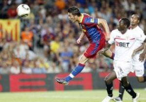Примера: Барселона отгрузила Севилье 5 голов, Реал выцарапал победу у Эркулеса