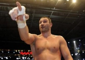 Віталій Кличко: Для Валуєва заняття боксом третьорядні