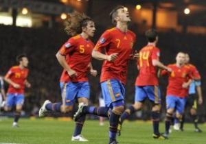 Евро-2012. Испания с боями побеждает Шотландию