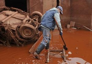 Угорщина націоналізувала компанію, із заводу якої витекли токсичні відходи