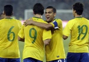 Бразилия определилась с составом на матч с Украиной