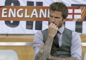 Руни видит Бекхэма тренером сборной Англии