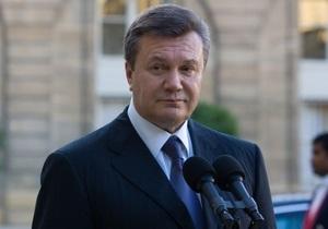Янукович: Дострокових виборів в Україні не буде