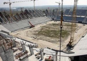 Каркас львовского стадиона готов на 70%
