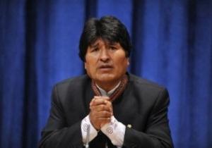 Президент Боливии извинился за удар коленом в пах