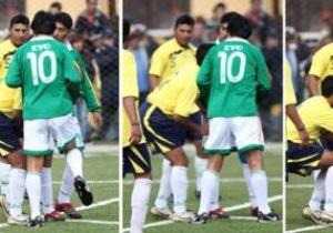 Президент Болівії під час дружнього футбольного матчу вдарив суперника в пах
