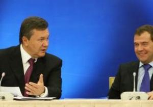 Янукович попросил Медведева поддержать инициативу Украины провести Зимнюю Олимпиаду