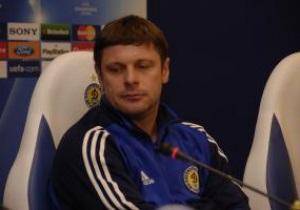 Олег Лужный будет тренировать Динамо до декабря