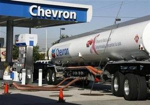 Chevron и Occidental прекращают нефтедобычу в Ливии