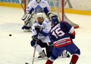 Сокіл поступився лідерові Відкритого чемпіонату Білорусі з хокею