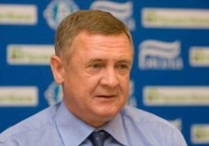 Бессонов покинул пост главного тренера Днепра