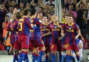 Букмекеры считают Барселону фаворитом Лиги Чемпионов