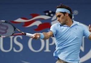 US Open: Федерер уверенно выходит в 1/8
