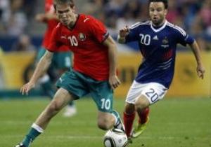 Евро-2012: Беларусь бьет Францию