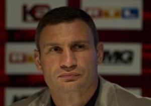 Виталий Кличко удостоился звания Чемпион 2009 года