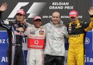 Хемілтон перемагає в Бельгії і захоплює лідерстов у Чемпіонаті