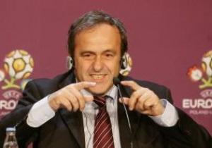 Платини отметил прогресс Украины в подготовке к Евро-2012