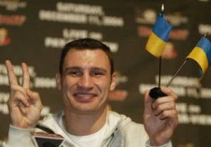 Кличко и Бриггс проведут первую пресс-конференцию в Киеве
