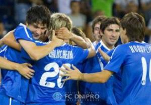 Ліга Європи: Матч Дніпра покажуть у записі