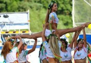 Киевлянки стали победительницами Кубка Черлидеров Украины-2010