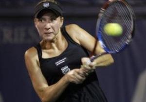 Алена Бондаренко не смогла выйти во второй раунд турнира в Нью-Хэйвене