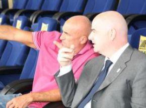 Фотогалерея: В Украину с любовью. Чиновники УЕФА проверили готовность страны к Евро-2012