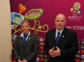 УЕФА отмечает прогресс Украины в подготовке к Евро-2012