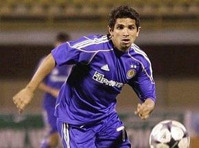 Гильерме внесен в заявку киевского Динамо