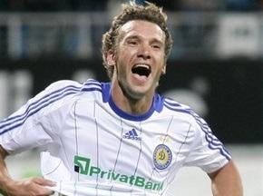 Андрей Шевченко назван лучшим футболистом июля в СНГ