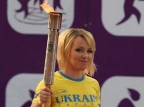 Мерлені запалила вогонь Юнацької Олімпіади