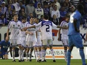 Динамо уверенно проходит Гент в квалификации Лиги Чемпионов