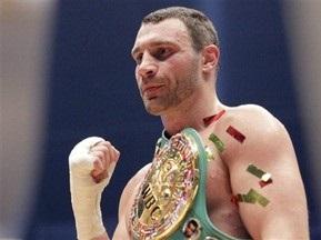Віталій Кличко удостоївся нагороди Чемпіон року