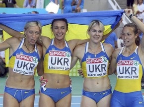 Українки завоювали золото ЧЄ в естафеті 4х100