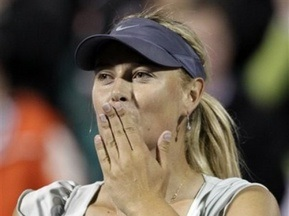 Стэнфорд WTA: Шарапова обыграла Дементьеву