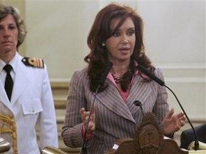 Президент Аргентины заступилась за Марадону