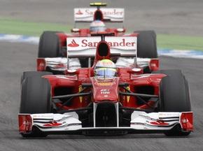 Фотогалерея: Тріумф Скудерії. Алонсо перемагає на Гран-прі Німеччини