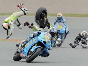 Moto GP: В Еспаргаро підозрюють травму хребта