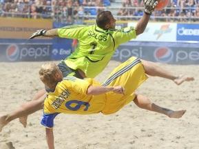 Пляжний футбол: Україна розгромила Голландію
