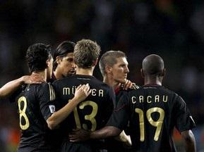 Сборная Германии забила рекордное количество голов на ЧМ за последние 40 лет